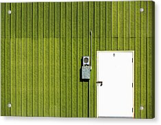 Side Of Green Acrylic Print by Todd Klassy