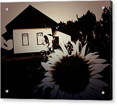 Side Of The Sun Acrylic Print by Empty Wall