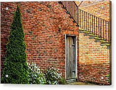 Acrylic Print featuring the photograph Side Streed Scene by Jim Dollar