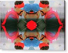 Sidelines Acrylic Print