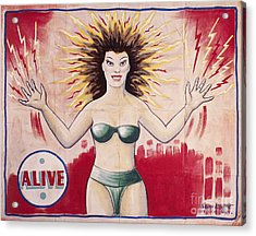 Sideshow Poster, C1965 Acrylic Print by Granger