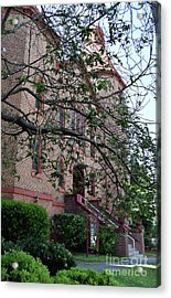 Acrylic Print featuring the photograph Sidney Park Cme Church by Skip Willits