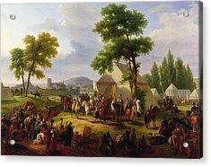 Siege Of Paris By Henri Iv Acrylic Print