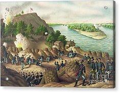 Siege Of Vicksburg Acrylic Print by American School