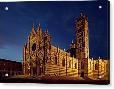 Siena Italy Cathedral Acrylic Print