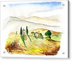 Siena. Italy Acrylic Print