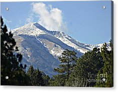 Sierra Blanca Clouds 4 Acrylic Print