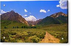 Sierra Mountains - Mammoth Lakes, California Acrylic Print