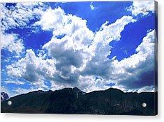 Sierra Nevada Cloudscape Acrylic Print