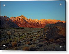 Sierra Nevada Sunrise Acrylic Print