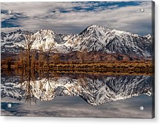 Sierra Reflections 2 Acrylic Print by Cat Connor