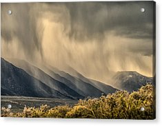 Sierra Storm From Panum Crater Acrylic Print