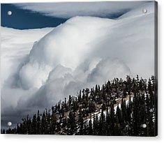 Sierra Stormclouds Acrylic Print