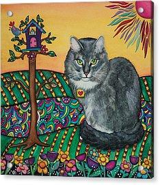 Sierra The Beloved Cat Acrylic Print