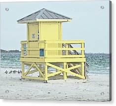 Siesta Key Beach 1 Acrylic Print