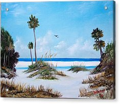 Siesta Key Fun Acrylic Print by Lloyd Dobson