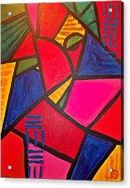 Sifuri Acrylic Print by Malik Seneferu