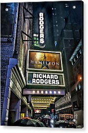Sights In New York City - Hamilton Marquis Acrylic Print
