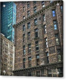 Acrylic Print featuring the photograph Sights In New York City - Old And New by Walt Foegelle