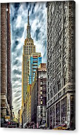 Acrylic Print featuring the photograph Sights In New York City - Skyscrapers 10 by Walt Foegelle
