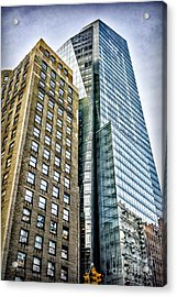 Acrylic Print featuring the photograph Sights In New York City - Skyscrapers by Walt Foegelle