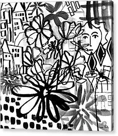 Sightseeing 2- Art By Linda Woods Acrylic Print
