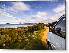Sightseeing Southern Tasmania Acrylic Print by Jorgo Photography - Wall Art Gallery