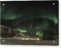 Acrylic Print featuring the photograph Siglufjordur by Frodi Brinks