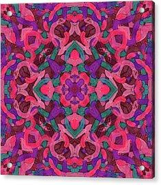 Signal Soup -pattern- Acrylic Print