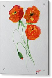 Signature Acrylic Print by Trilby Cole