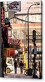 Signs Of Minneapolis Acrylic Print