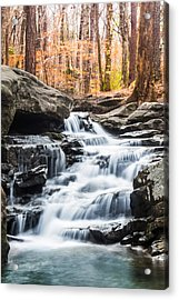 Autumn At Moss Rock Preserve Acrylic Print