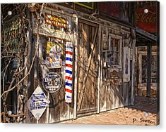 Signs Of The Past Acrylic Print by Patricia Stalter