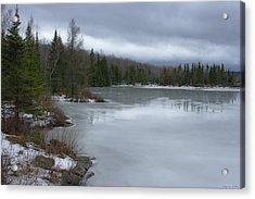 Signs Of Winter - Hiver Acrylic Print