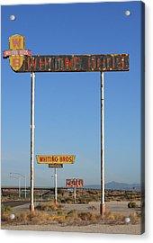 Signs Yucca Az Acrylic Print