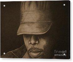 Silence Acrylic Print by Lorelle Gromus
