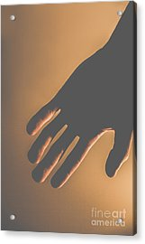 Silence Of The Hands Acrylic Print by Jorgo Photography - Wall Art Gallery