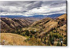 Silence Of Whitebird Canyon Idaho Journey Landscape Photography By Kaylyn Franks  Acrylic Print