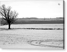 Silence The Only Sound Acrylic Print by Off The Beaten Path Photography - Andrew Alexander