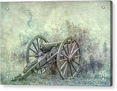 Silent Cannon Field Of Fire Acrylic Print