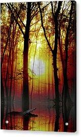 Silent Danger Acrylic Print