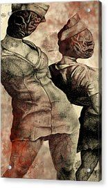 Silent Hill Nurses     Altered Acrylic Print