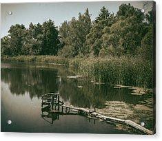 Silent Lake. Korop, 2016. Acrylic Print