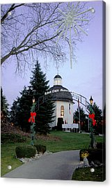 Silent Night Chapel Acrylic Print