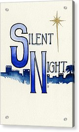 Silent Night Acrylic Print