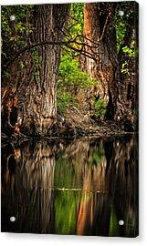 Silent River Acrylic Print