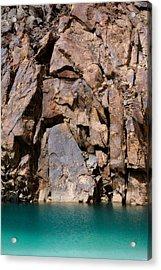 Silent Rocks Acrylic Print by Konstantin Dikovsky