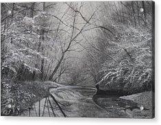 Silent Running Acrylic Print