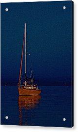Silent Sails  Acrylic Print