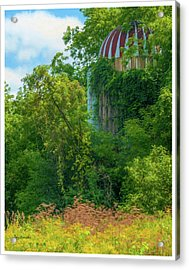 Silent Silo On Nottleson Road Acrylic Print